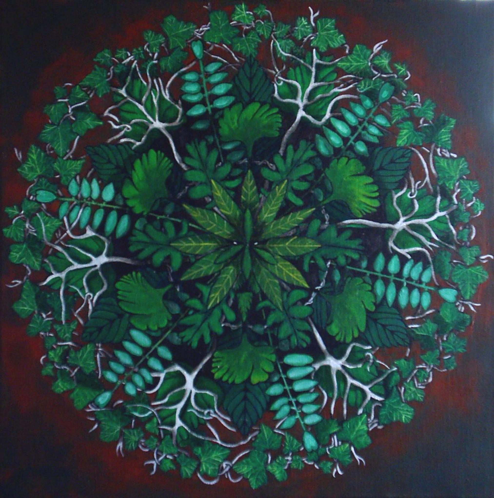 Mandala de l'Homme vert