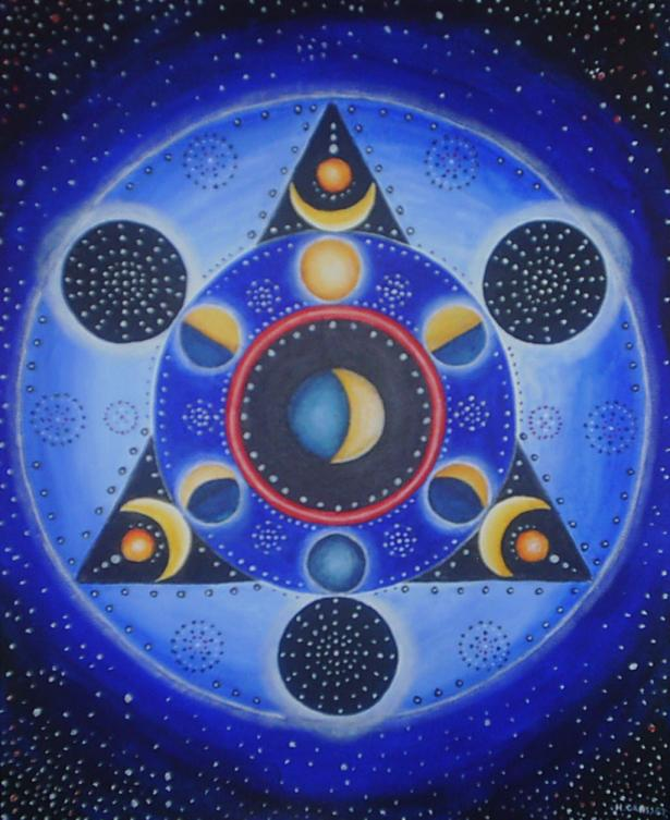 Mandala lunaire